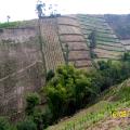 Poor landuse in the corridor area between Mt Merapi and Mt Merbabu