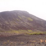 Hill erosion in Iceland