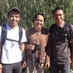 L-R: Sartono, Uyung Pramudiyanto, Sutar