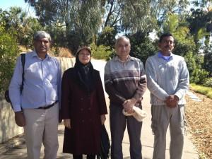 L-R: Mubarak Yaqub, Asia Gulnaz, Ajaz Rana, Zahoor Aslam