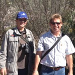 L-R: Hannes Muller and Jan Smit