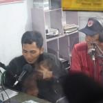 Governor of Central Java, Ganjar-Pranowo, Broadcasting on Merapi Merbabu Community Radio - November 2013