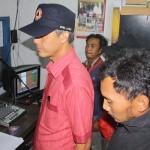 Governor of Central Java visiting Merapi Merbabu Community Radio (MMCR)