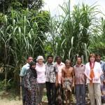 Village elders with SILC representatives