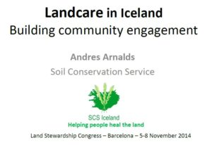 Iceland landcare cover sheet
